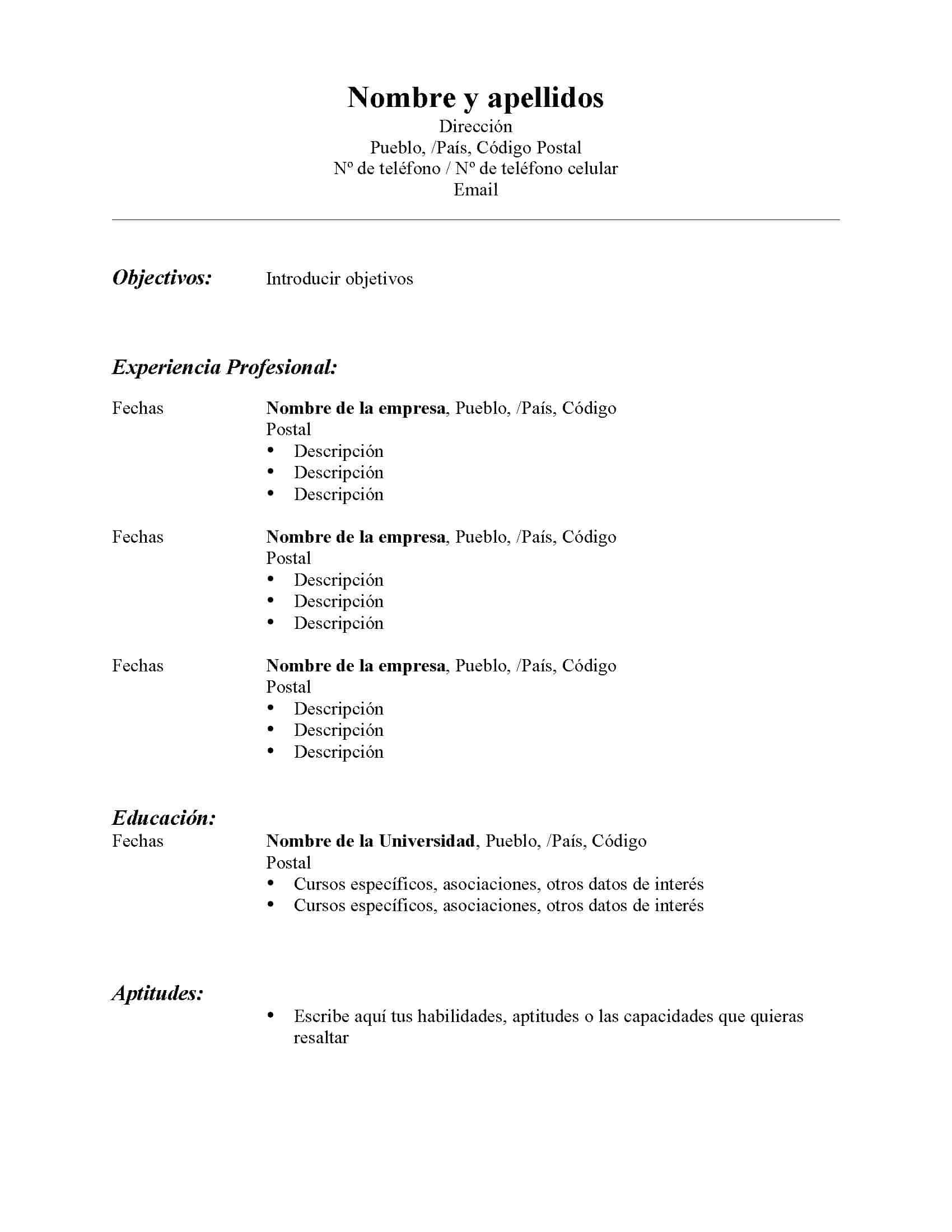 Cómo redactar un resumé – Estudiante.PR